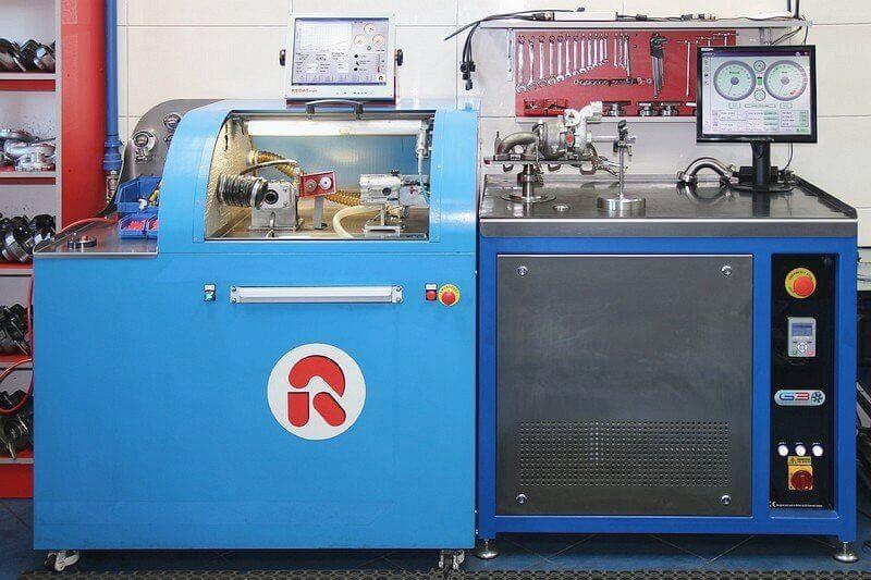 Najnowocześniejszy w Polsce sprzęt do regeneracji turbosprężarek.