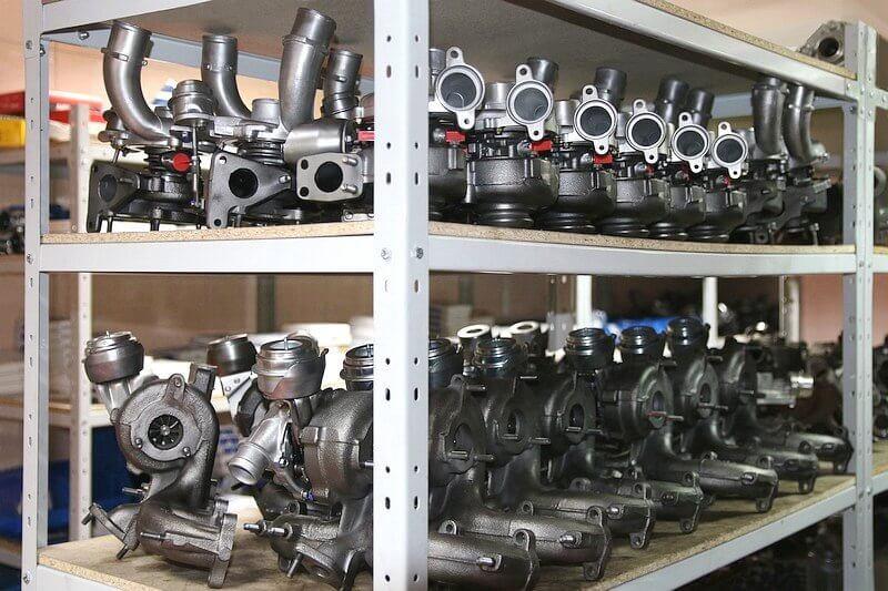 Duży zapas gotowych, już zregenerowanych turbosprężarek. Tanie turbiny od ręki