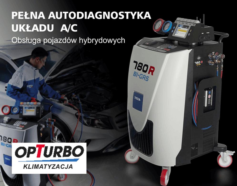 Nowoczesna maszyna do serwisu klimatyzacji samochodowych Zgierz, Łódź Bałuty